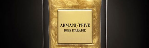 L'Or du Désert – New Giorgio Armani's Golden Fragrance for Le Bon Marché in Paris