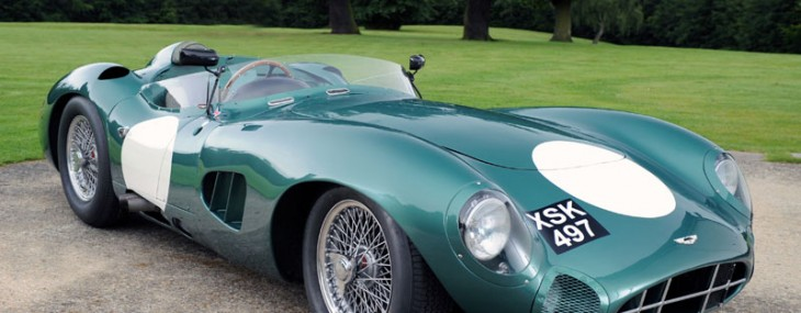 Iconic Aston Martin DBR1/2 On Sale for $31.7 Million