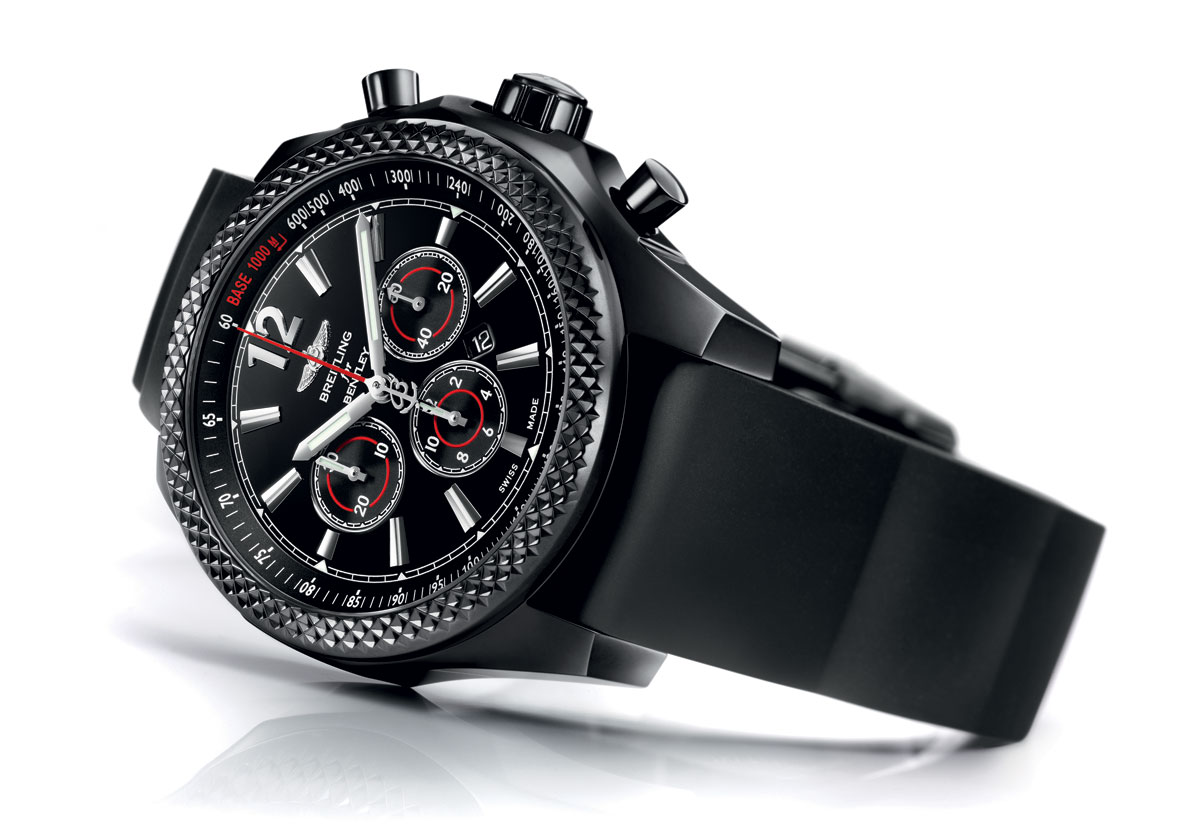 Barnato Bentley 42 Midnight Carbon Watch