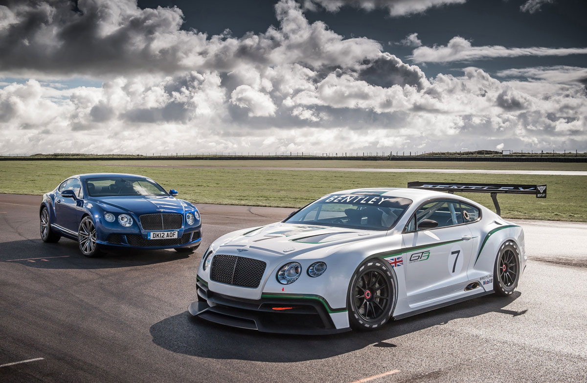 Bentley Returns To Motosport With Racing Gt Extravaganzi
