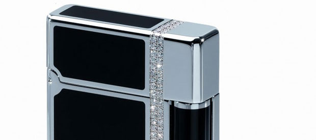 Davidoff Prestige Lighter with 182 Diamonds – Limited Edition
