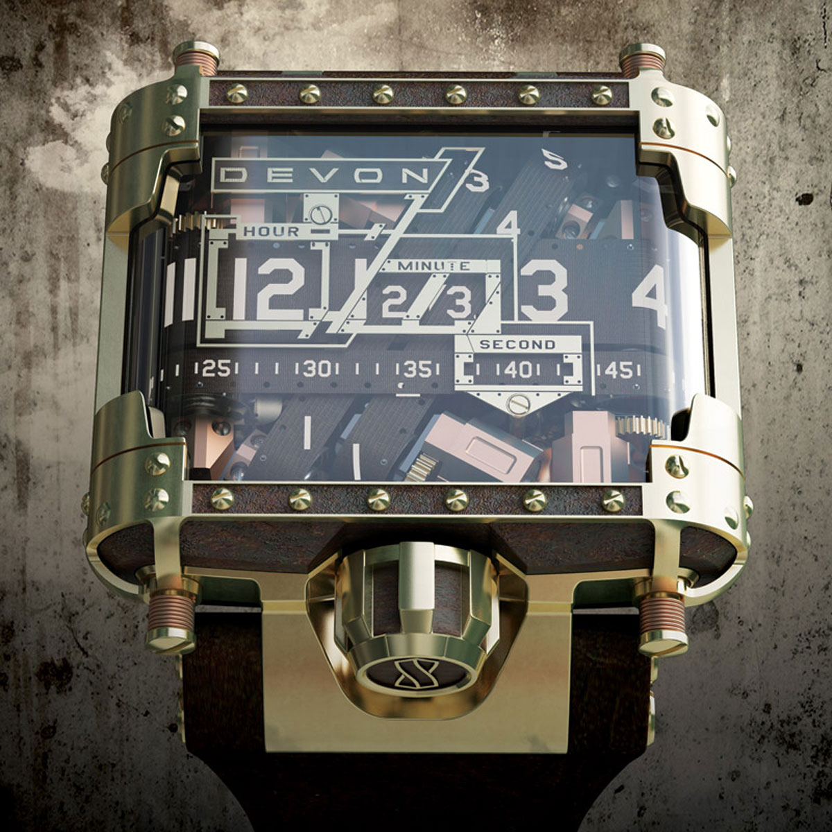 $25,000 Devon Tread 1 Steampunk Watch – Limited Edition