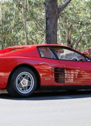 Sir Elton John's Birthday Gift – Ferrari Testarossa Up For Sale