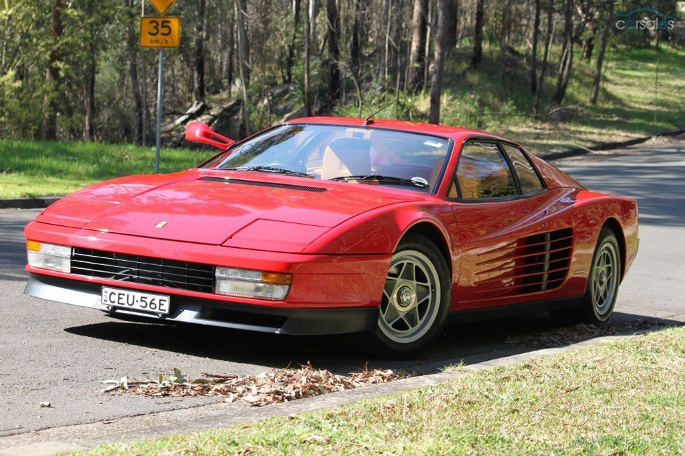 Sir Elton John S Birthday Gift Ferrari Testarossa Up For Sale Extravaganzi