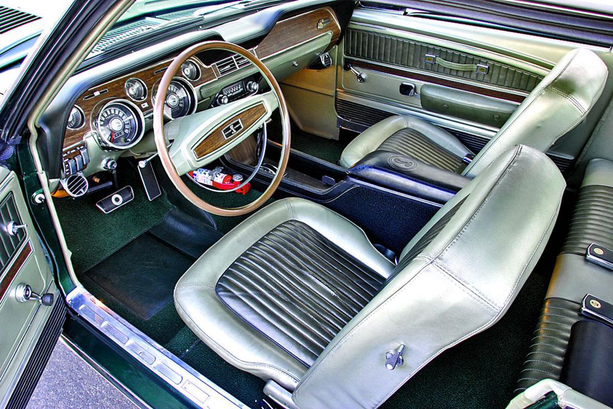 1968 Shelby Green Hornet
