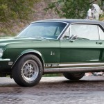 Rare Green Hornet 1968 Shelby EXP 500 at Barrett-Jackson Scottsdale Auction