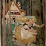 Jessie Willcox Smith's Goldilocks and the Three Bears Tops Illustration Art Signature Auction