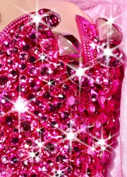 One-of-a-kind Pink Diamond Barbie Doll by The Blonds Auctioned for Charity