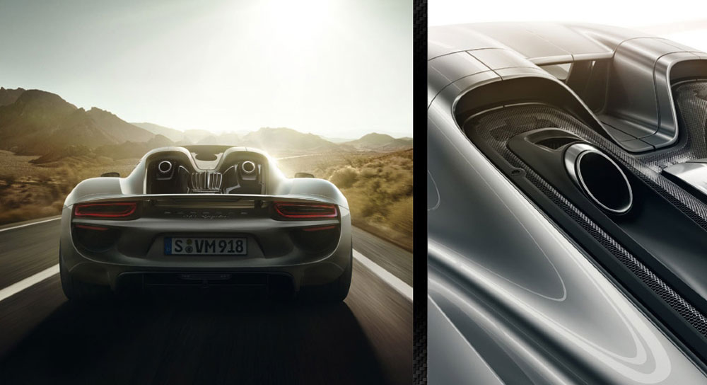 $65,000 Liquid Shade Paint for Porsche 918 Spyder