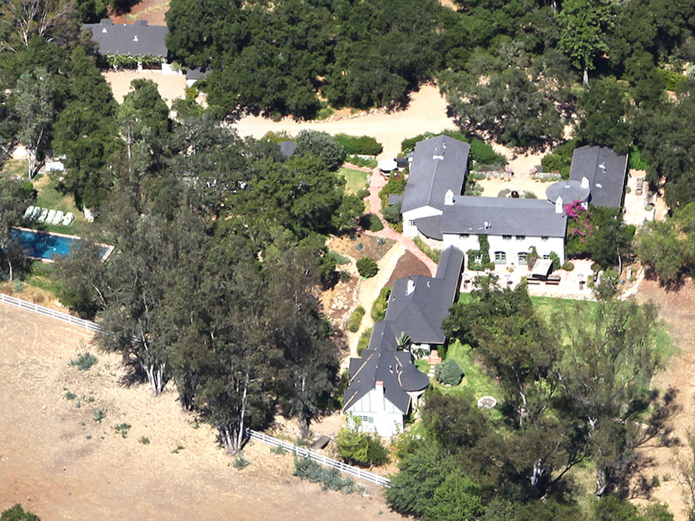 Reese witherspoon 39 s libbey ranch in ojai california for Ojai celebrities