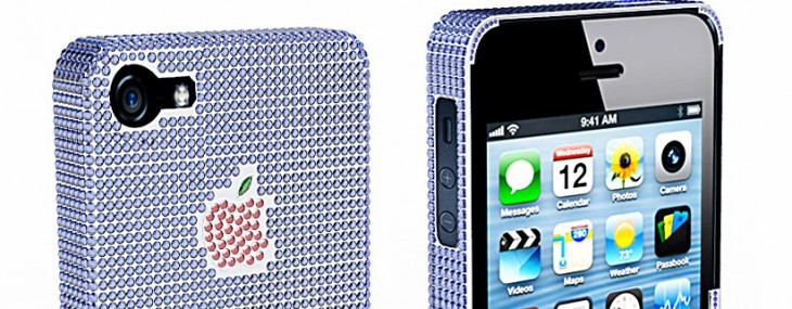 The Natural Sapphire Company $100,000 iPhone 5 Case