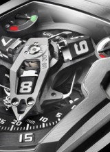 World's First Winding Efficiency Indicator on the Urwerk UR-210 Maltese Falcon Wristwatch