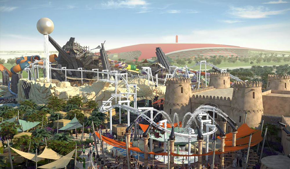 Yas Waterworld Middle East S Largest Waterpark Opens