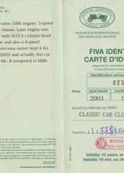1933 Fiat 508S SIATA Spyder Mille Miglia Convertible for $279,000