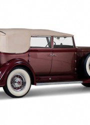 1933 Packard Twelve Convertible Sedan