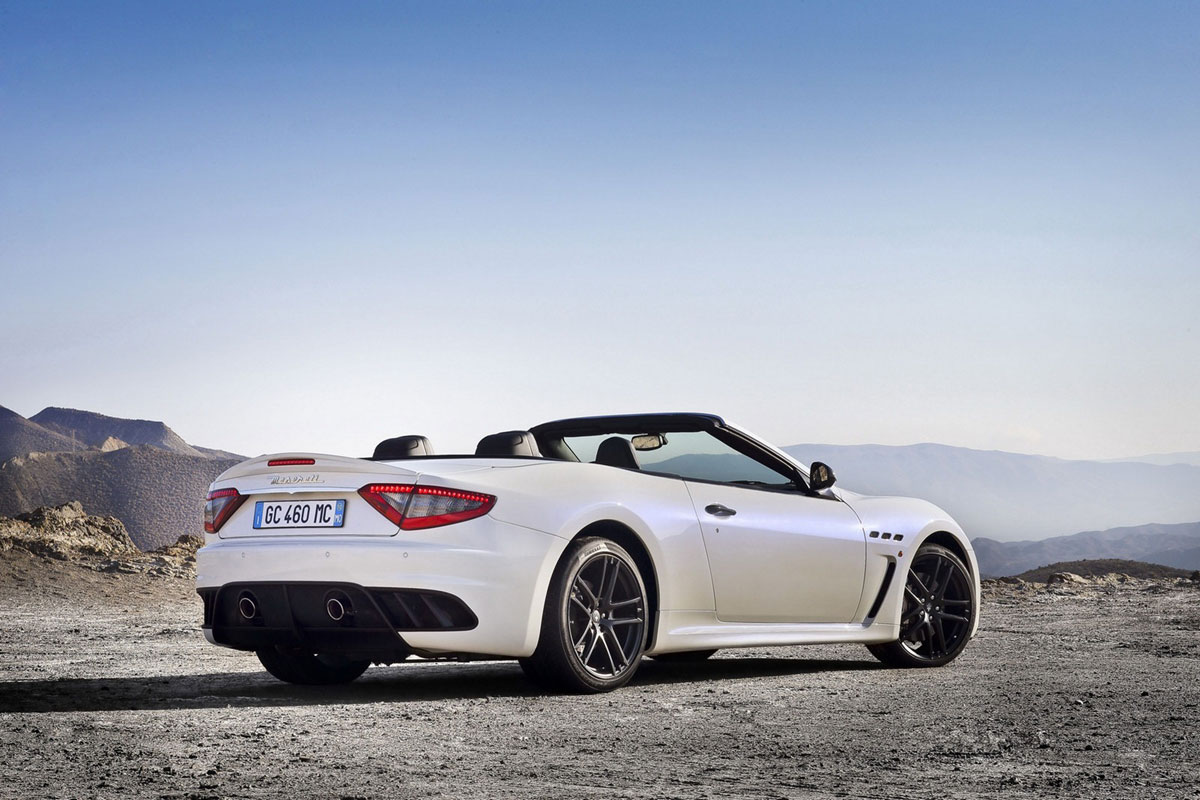 New Maserati GranCabrio MC &#8211; Essentially the Same, but so Cool as Convertible