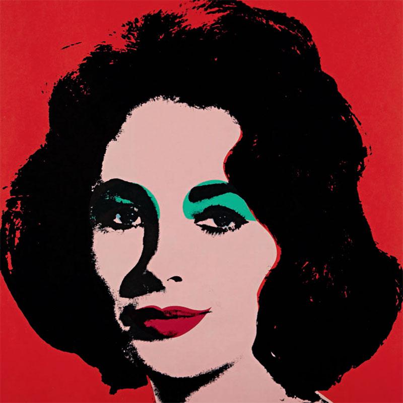 Andy-Warhol-Liz-1964