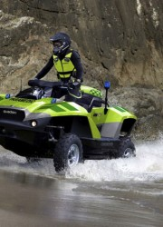 BMW-powered Gibbs Quadski ATV