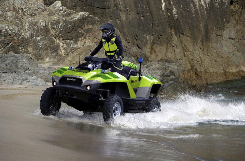 $40,000 BMW-powered Gibbs Quadski ATV – Luxury Toy for Land and Sea