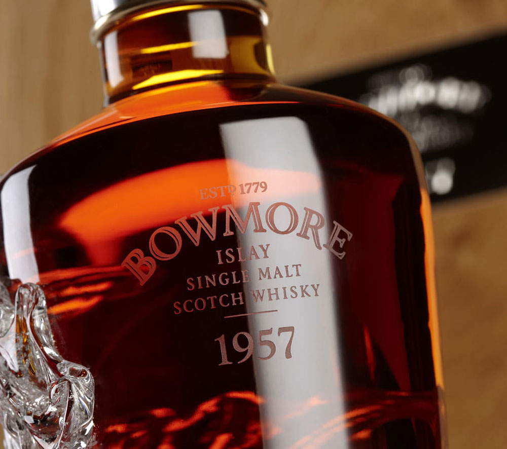Bottle of Bowmore 1957 Could Fetch 150,000 and Become Worlds most Expensive Whisky