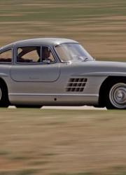 Clark Gable's 1955 Mercedes-Benz 300SL Coupe With Hollywood Pedigree Heads to Auction