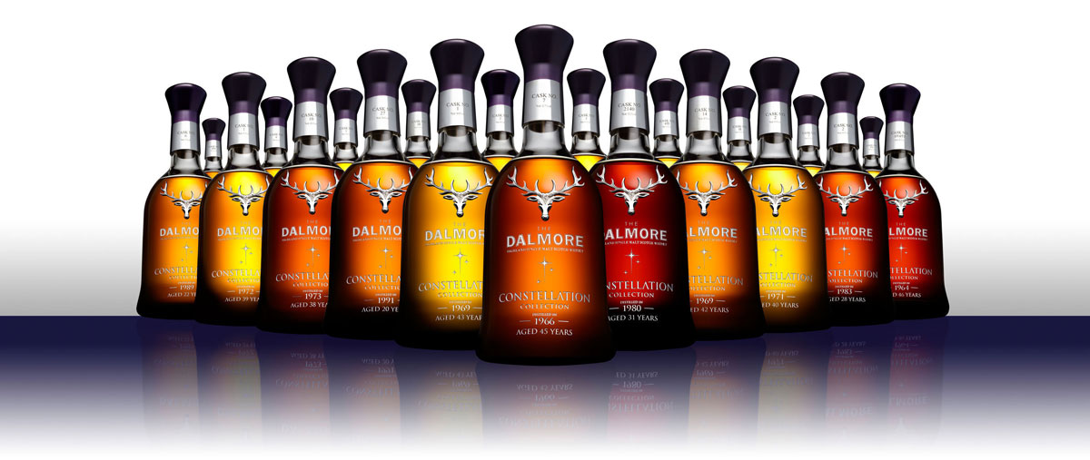 $250,000 Dalmore Constellation Collection of 21 Rare Whiskies Arrived in the US