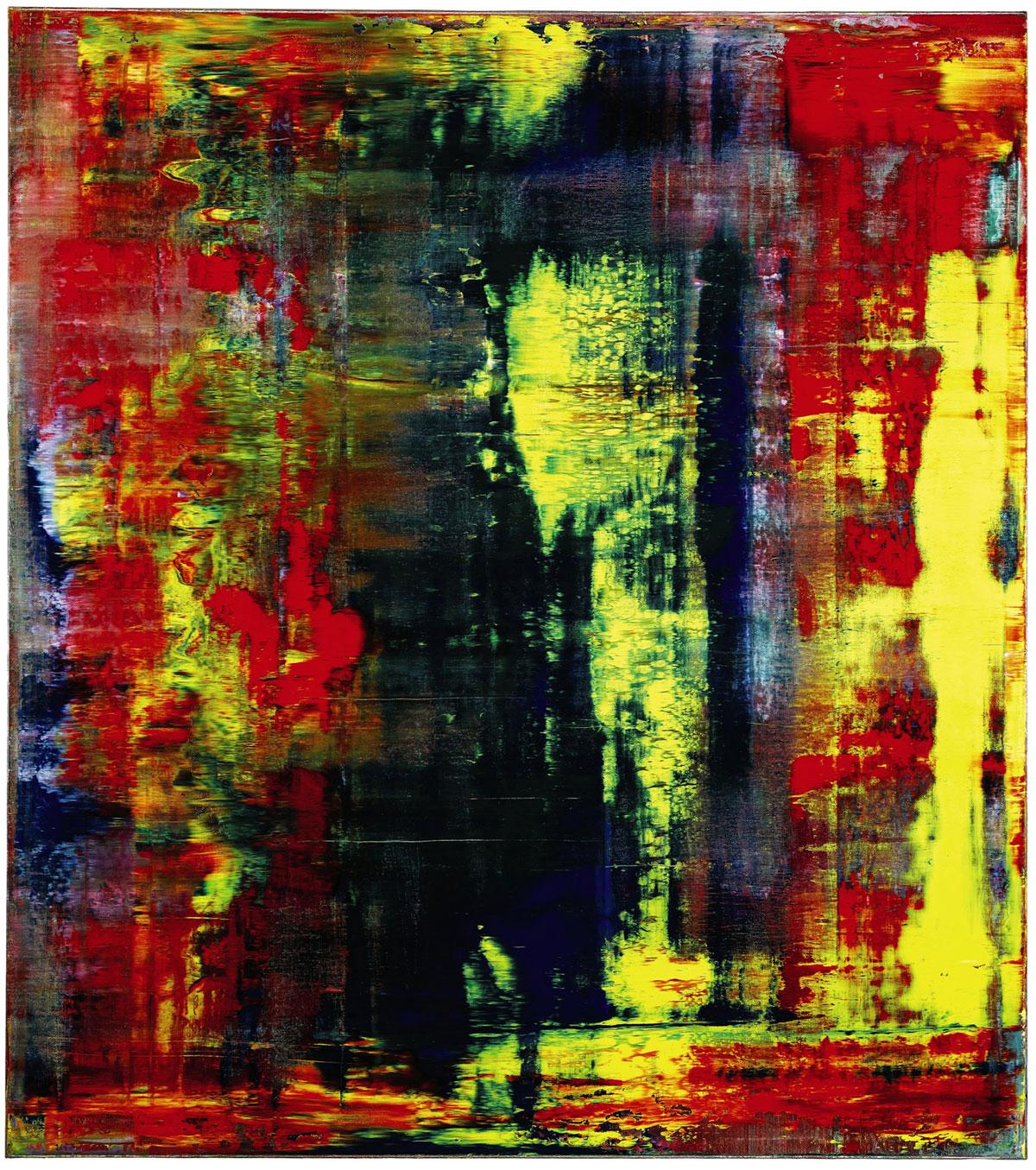 Gerhard Richter Abstraktes Bild (809-4)