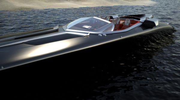 Hermes & Zeus IF60 Luxury Powerboat