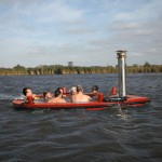 HotTug Jacuzzi Boat for Comfortable Sailing in Hot Water