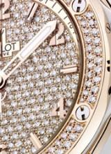 Hublot Big Bang Gold Full Pavé-Set