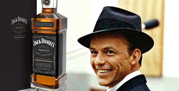 Jack Daniel's Special Tribute Bottle for Frank Sinatra