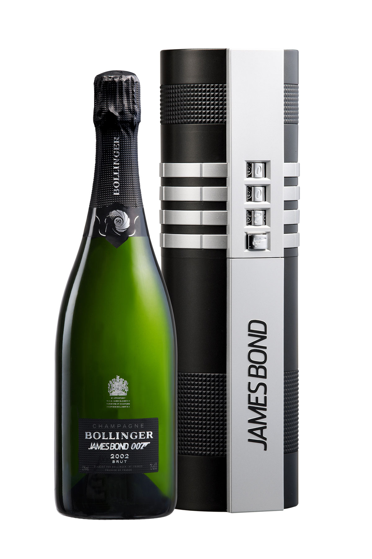 Special Champagne Bollinger 002 for 007 Gift Set – Limited Edition