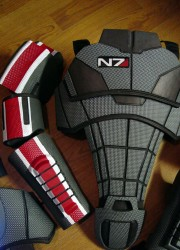 Mass Effect N7 Armor for Sci-fi Action Video Game Geeks