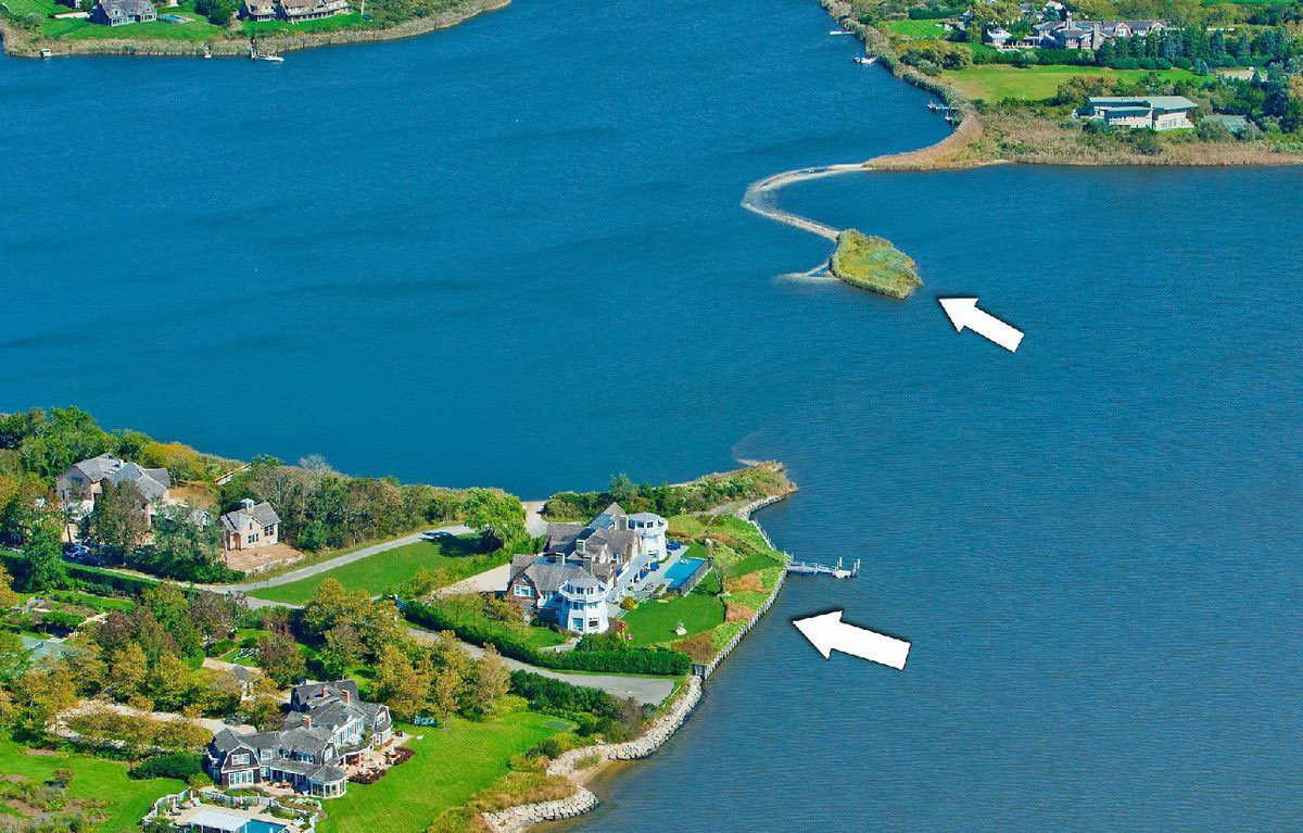 Water mill estate with the most spectacular waterfront for The hamptom