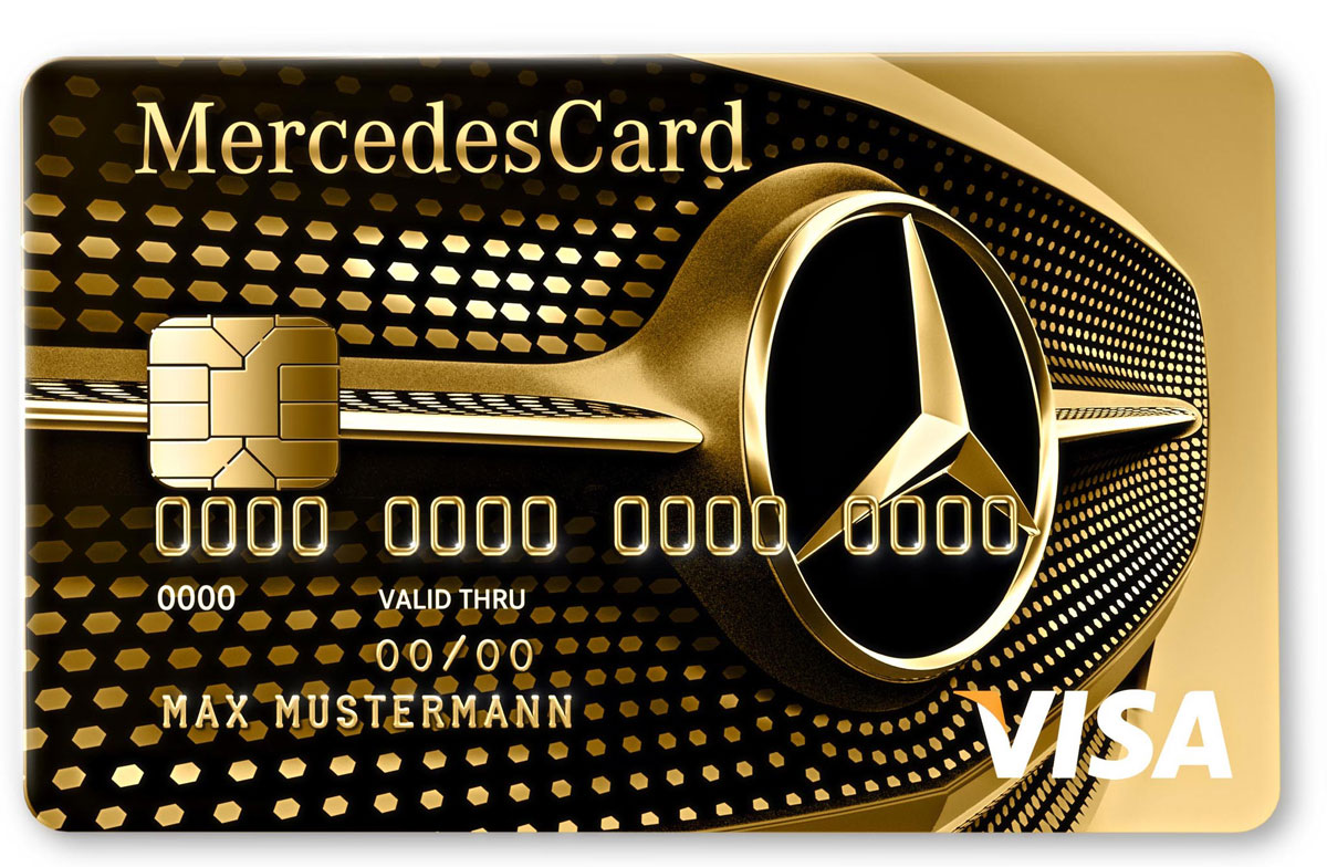 New mercedes benz credit card silver and gold offers for Mercedes benz business cards