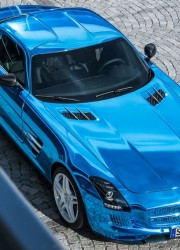 Mercedes-Benz SLS AMG Electric Drive – World's Most Powerful Electric Car