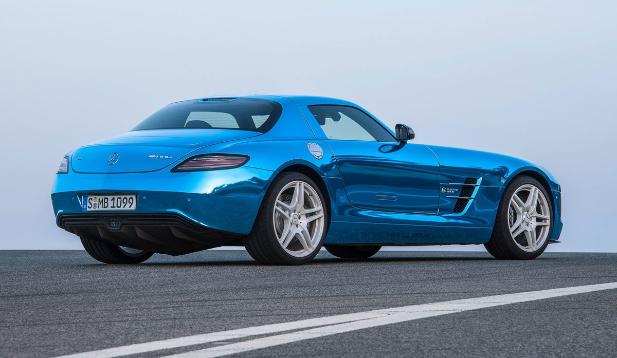 Mercedes benz sls amg electric drive world s most for Mercedes benz electric drive