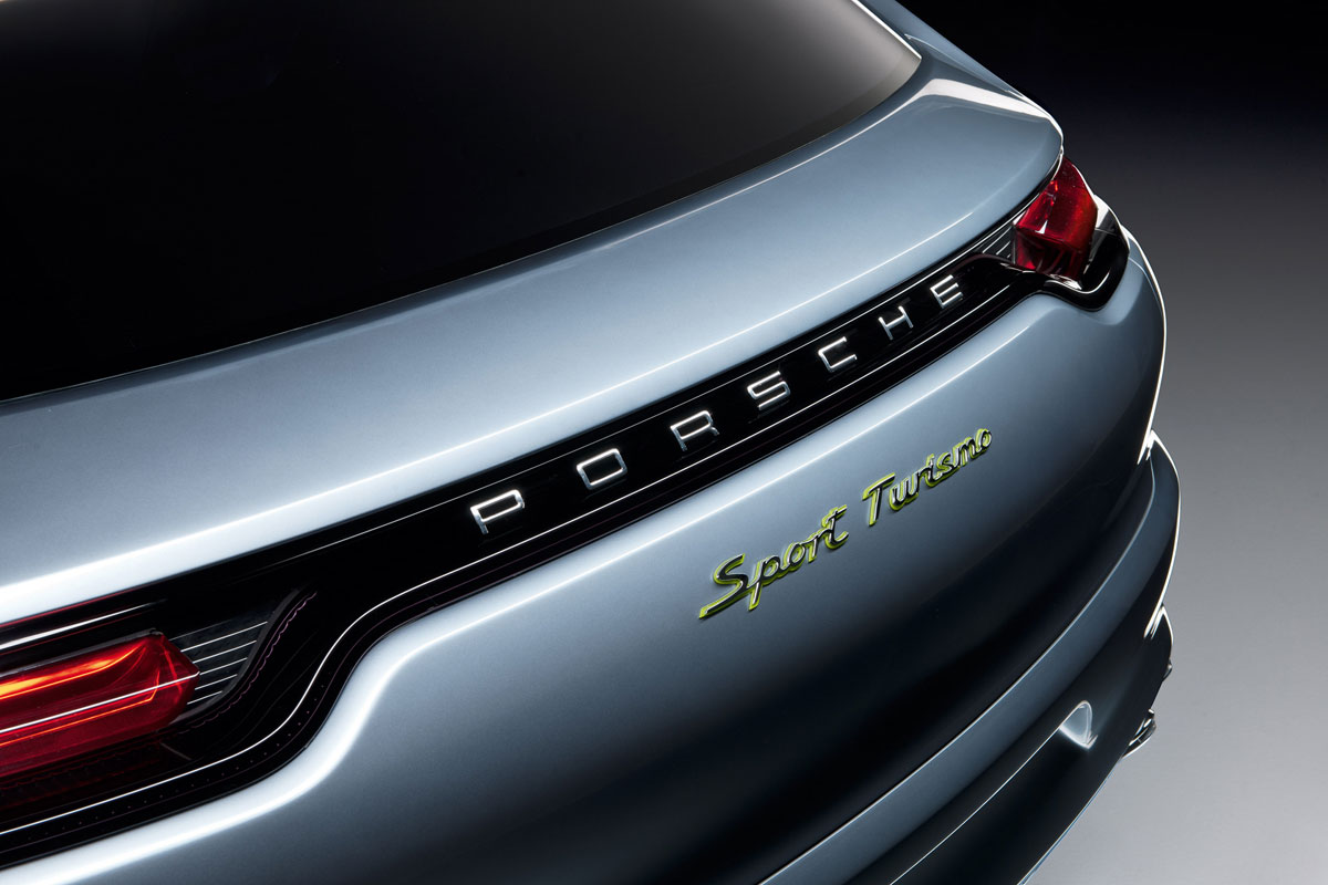 Porsche Panamera Sport Turismo Concept Car Debuted at 2012 Paris Motor Show