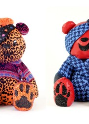 Pudsey Bear for Children in Need 2012 Designed by 30 Famous Names of Fashion