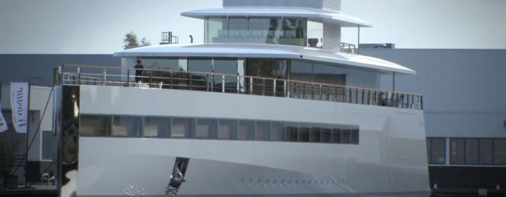 Steve Jobs' Venus Superyacht