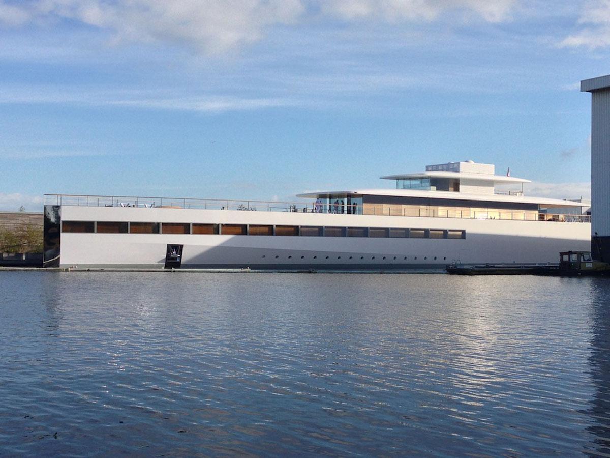 Steve Jobs' Venus Superyacht Unveiled in Netherlands ...