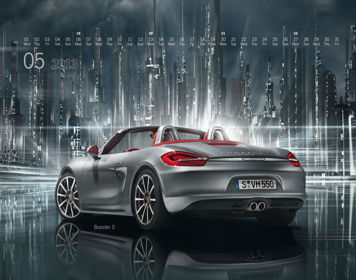 The New Porsche Calendar: Mega City