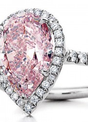 Tiffany $2 Million Pink Diamond Ring Goes to the Heart of Valentine's Day