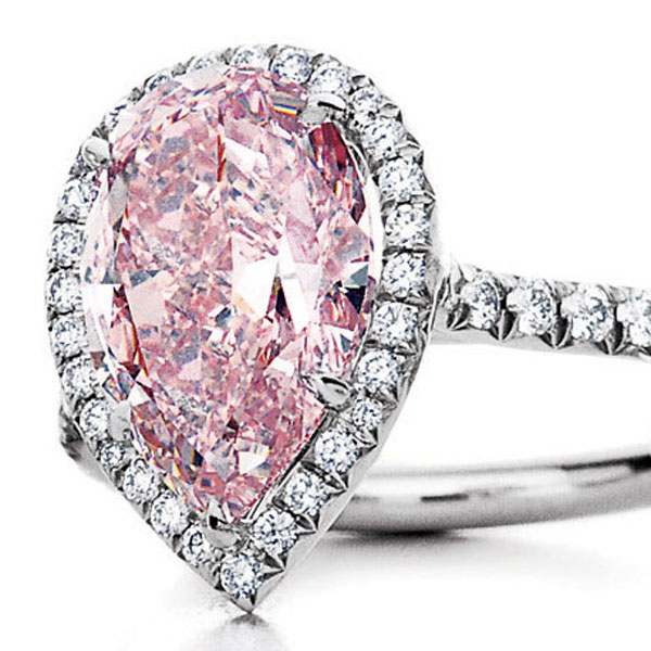 Tiffany $2 Million Pink Diamond Ring