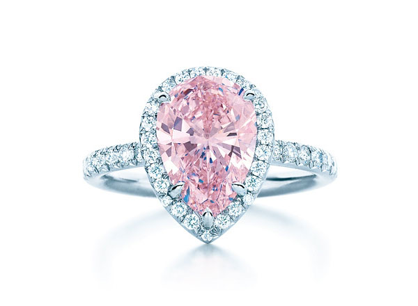 Image Gallery heart cut pink diamond