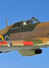 WWII Hurricane Fighter Aircraft