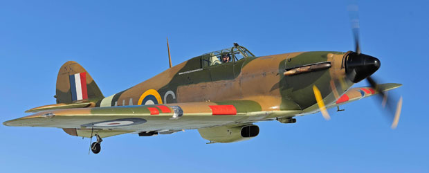 Rare WWII Hurricane Fighter Aircraft Could Fetch 1.7 Million at Bonhams