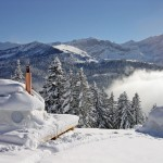 Whitepod Resort – High-tech Eco-Camp in the Swiss Alps