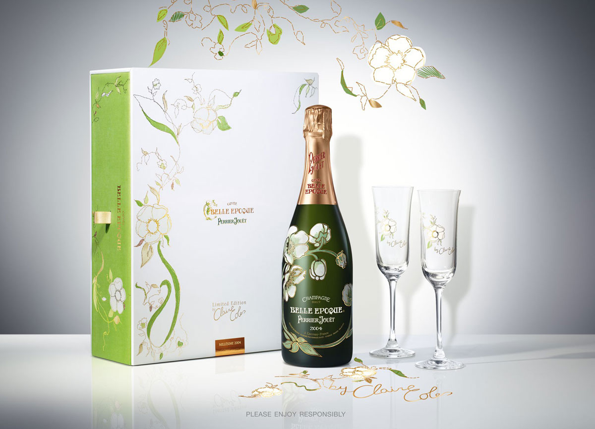 Perrier-Jouët Belle Epoque Champagne by Claire Coles - Limited ...