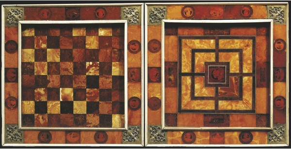 17th-century Royal Amber Games Board